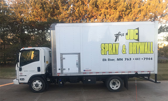 JDC Spay & Drywall Truck